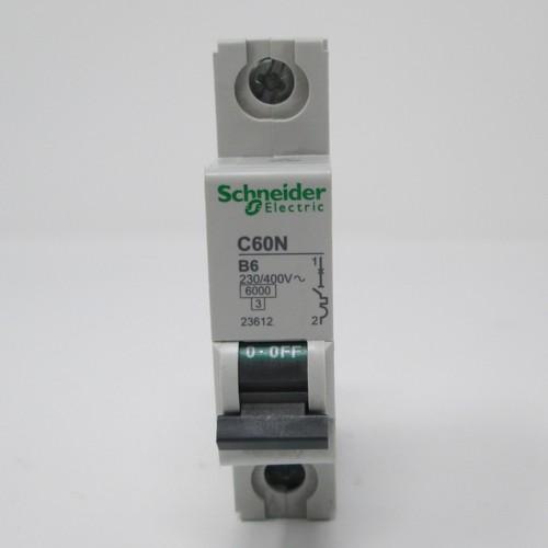 Schneider Electric 23612 tubería disyuntor c60n b6